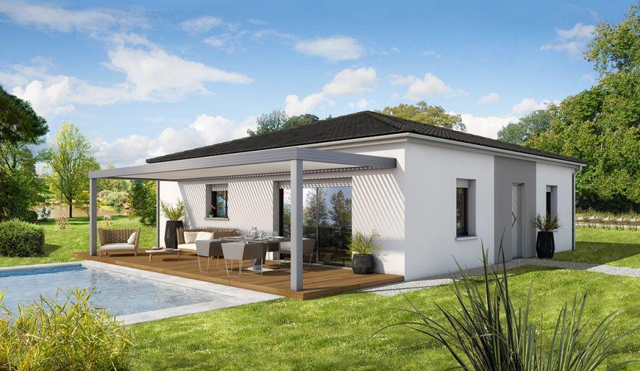 awesome terrain de m maison de m biganos uac with model de maison a construire - Modele De Maison A Construire